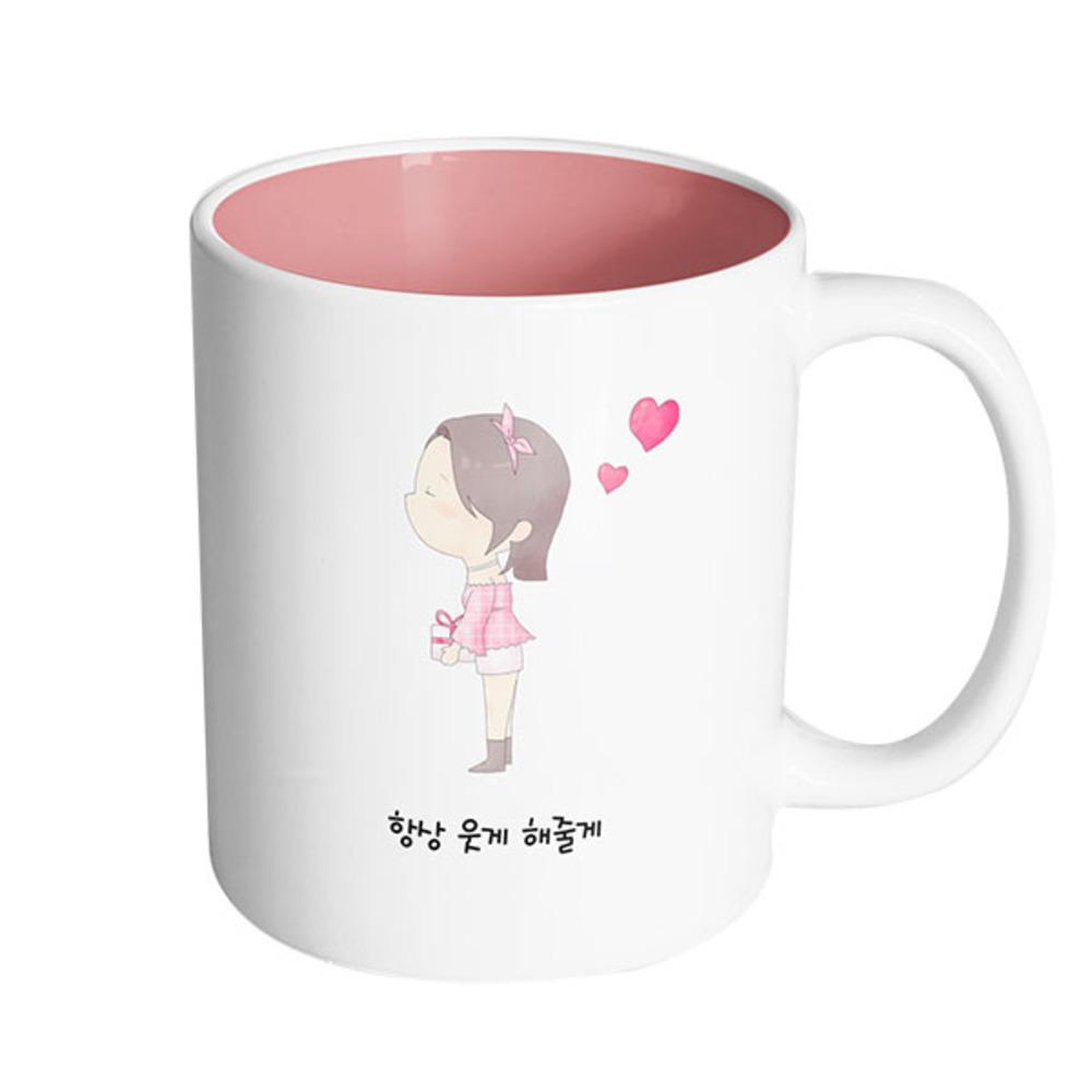 핸드팩토리머그컵댄디커플소녀