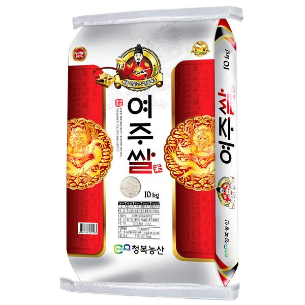 [한결물산] 2019년 햅쌀 상등급 고시히카리 청복 여주쌀